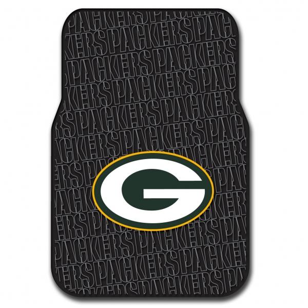 Green Bay Packers Nfl Car Floor Mat