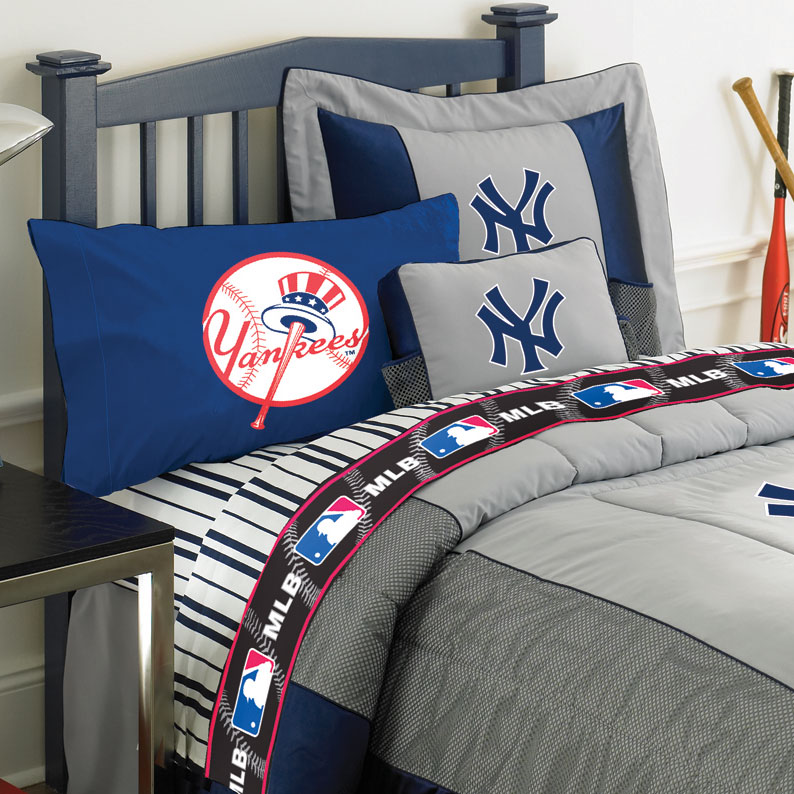 New York Yankees Twin Size Sheets Set