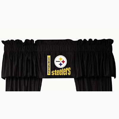 Pittsburgh Steelers Locker Room Window Valance