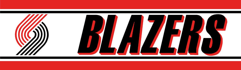 Portland Trailblazers Wallpaper Border