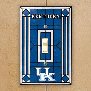 Kentucky Wildcats Ncaa College Art Glass Single Light