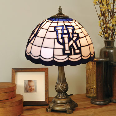 Kentucky Wildcats Ncaa College Stained Glass Tiffany Table