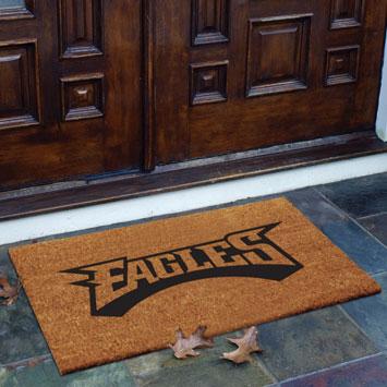 Philadelphia Eagles Nfl Rectangular Outdoor Flocked Door Mat