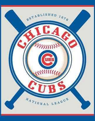 Chicago Cubs Double Header Beach Towel