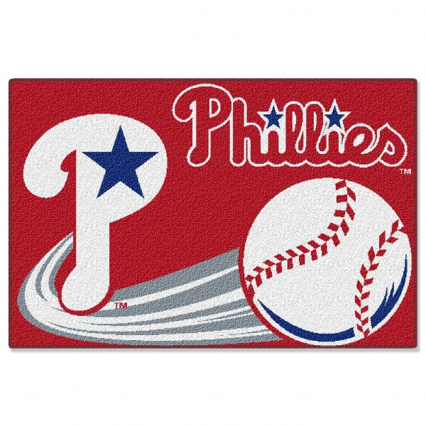 Philadelphia Phillies Mlb 20 Quot X 30 Quot Acrylic Tufted Rug