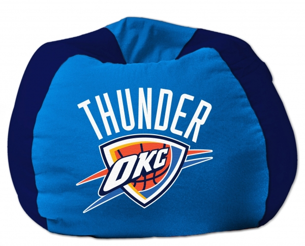 Http Www Familybedding Com 1 866 925 6650 Products Oklahoma City Thunder Nba 102 Cotton Duck Bean Bag Html