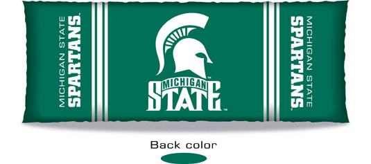 Michigan State Spartans Body Pillow