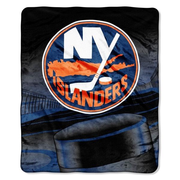 """New York Islanders Wallpaper: New York Islanders NHL Micro Raschel Blanket 50"""" X 60"""""""