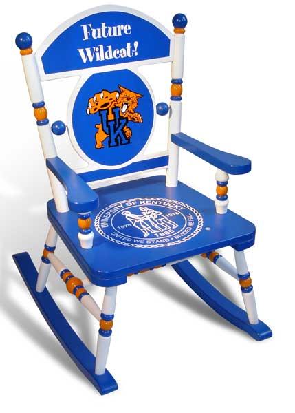University Of Kentucky Team Rocking Chair
