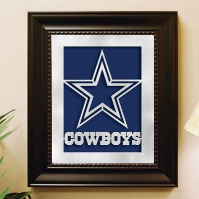 Dallas Cowboys Nfl Laser Cut Framed Logo Wall Art