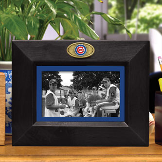 Chicago Cubs Mlb 8 Quot X 10 Quot Black Horizontal Picture Frame