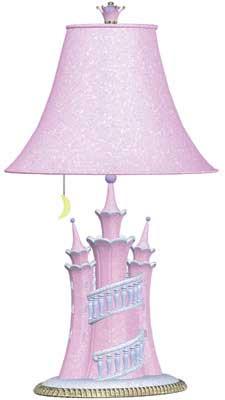 Castle Lamp - Pair