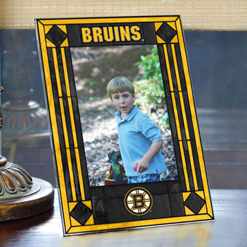 Boston Bruins Nhl 9 Quot X 6 5 Quot Vertical Art Glass Frame