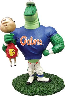 Florida Gators Ncaa College Rivalry Mascot Figurine