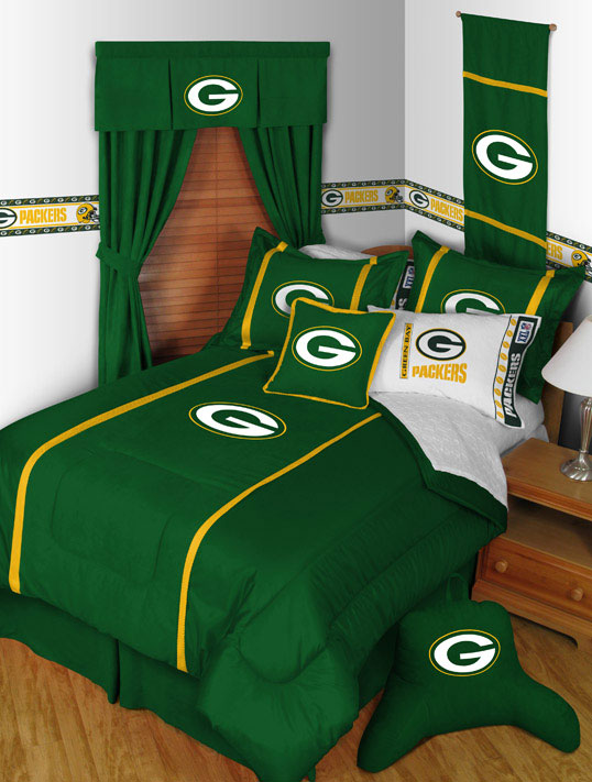 Green Bay Packers Mvp Comforter Sheet Set