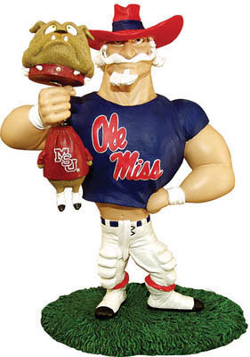 Mississippi Ole Miss Rebels Ncaa College Rivalry Mascot