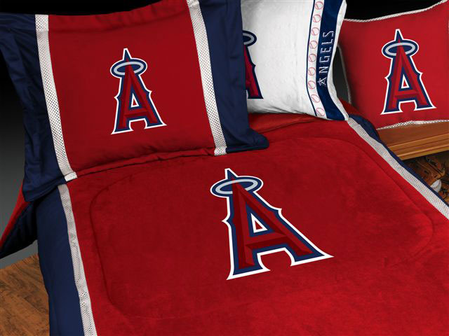 Los Angeles Angels Of Anaheim Crib Bedding