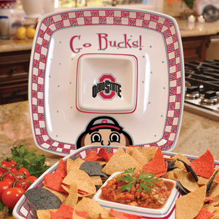 ohio state osu buckeyes ncaa college 14 quot gameday ceramic