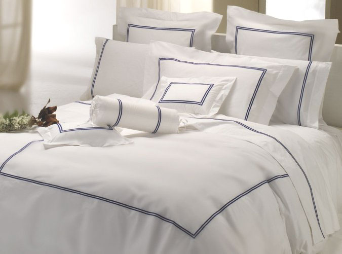 Hotel Collection King Duvet White Percale