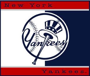 New York Yankees 60 Quot X 50 Quot All Star Collection Blanket Throw