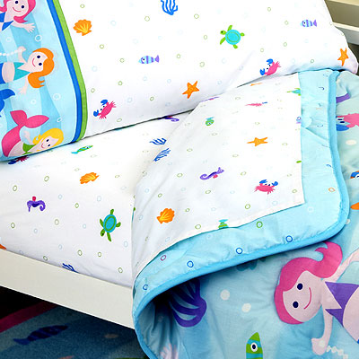 Olive Kids Mermaids Girls Toddler Sheet Set