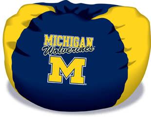Michigan Wolverines Bean Bag