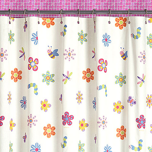 Flowerland Shower Curtain