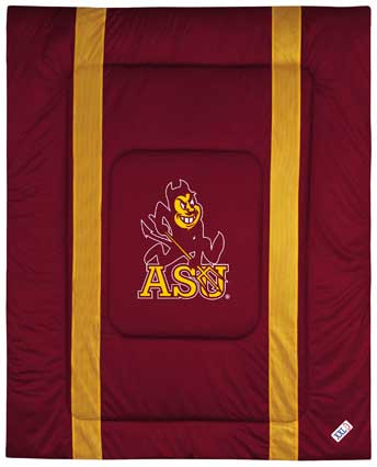 Arizona State Sun Devils Side Lines Comforter