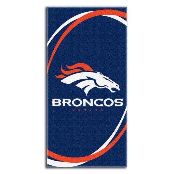 Denver Broncos Nfl 30 Quot X 60 Quot Terry Beach Towel
