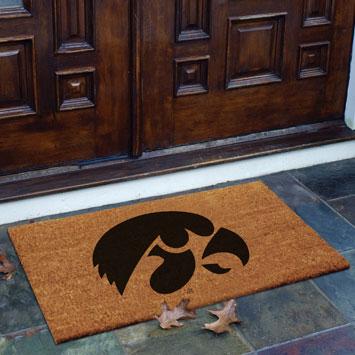 Iowa Hawkeyes Ncaa College Rectangular Outdoor Flocked