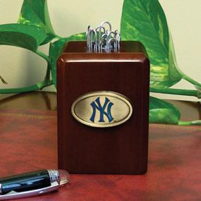 New York Yankees Mlb Paper Clip Holder