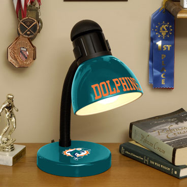 Miami Dolphins Nfl Desk Lamp