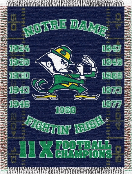 Notre Dame Fighting Irish Ncaa College Quot Commemorative Quot 48