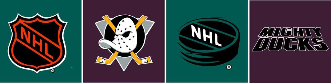 Anaheim Mighty Ducks Logo Wallpaper Border