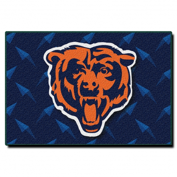"Chicago Bears NFL 20"" X 30"" Tufted Rug"