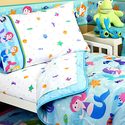 Olive Kids Mermaids Girls Toddler Bedding Set