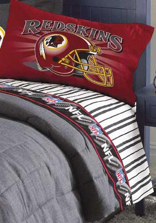 washington redskins pillow case. Black Bedroom Furniture Sets. Home Design Ideas