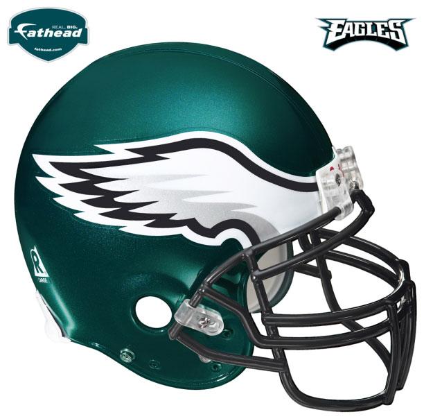 Philadelphia Eagles Helmet Fathead Nfl Wall Graphic