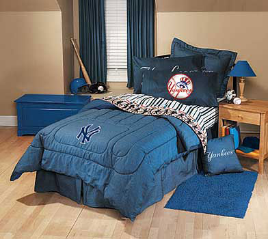 set under mlb bedding room decor accessories new york yankees bedding