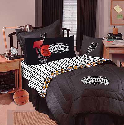 San Antonio Spurs Queen Sheet Set