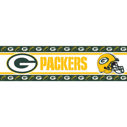 Green Bay Packers Nfl Peel And Stick Wall Border