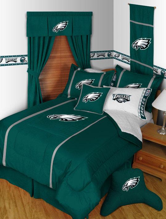 Philadelphia Eagles Mvp Bed Skirt Zoom