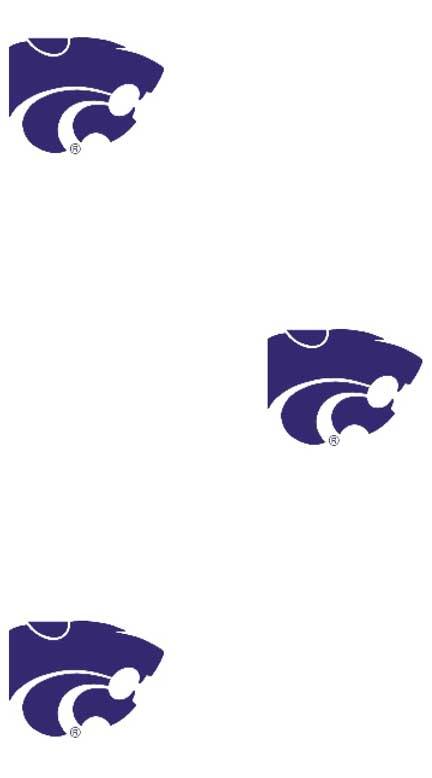 Kansas State Wildcats Logo Wallpaper Double Roll