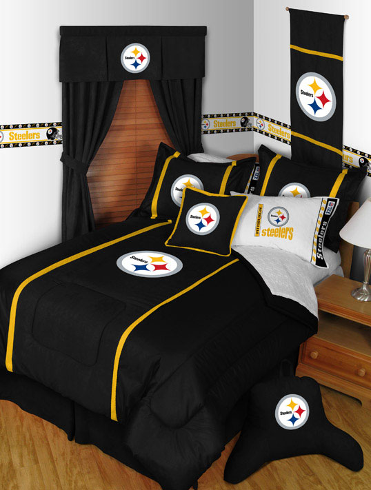 Pittsburgh Steelers MVP Bed Skirt