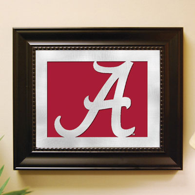 Alabama Crimson Tide Ncaa College Laser Cut Framed Logo