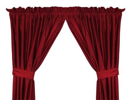 Detroit Red Wings Locker Room Window Drapes