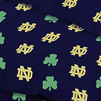 Notre Dame Fighting Irish 100 Cotton Sateen King