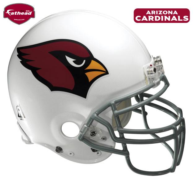 Arizona Cardinals Helmet Fathead Nfl Wall Graphic