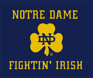 Notre Dame Fighting Irish 60 Quot X 50 Quot Classic Collection