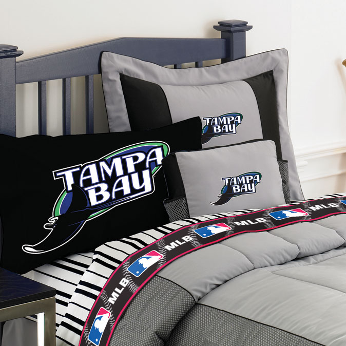 Tampa Bay Devil Rays Authentic Team Jersey Pillow Sham